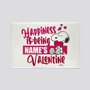 Snoopy Happiness is Being - Perso Rectangle Magnet