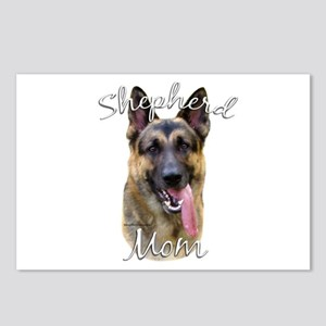 GSD Mom2 Postcards (Package of 8)