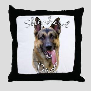 GSD Dad2 Throw Pillow