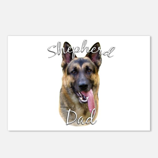 GSD Dad2 Postcards (Package of 8)