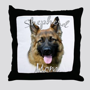 GSD Mom2 Throw Pillow
