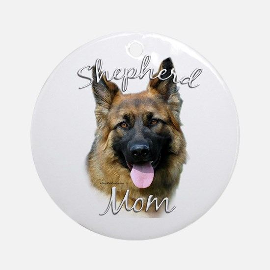 GSD Mom2 Ornament (Round)