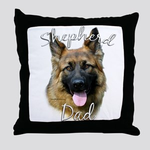 GSD Dad2 Throw Pillow