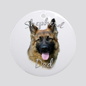 GSD Dad2 Ornament (Round)
