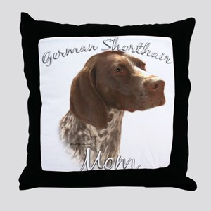 GSP Mom2 Throw Pillow