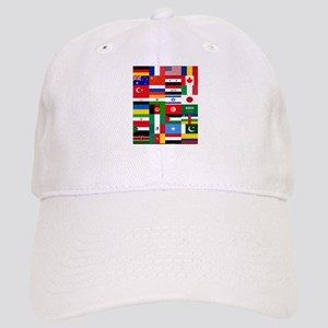 Country Flags Cap