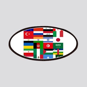 Country Flags Patch