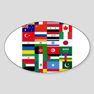 Country Flags Sticker