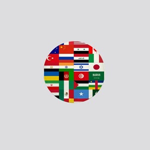 Country Flags Mini Button
