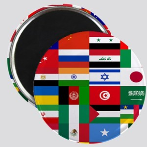 Country Flags Magnets
