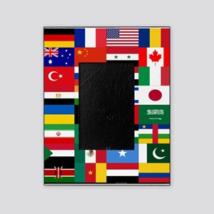 Country Flags Picture Frame
