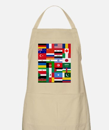 Country Flags Apron