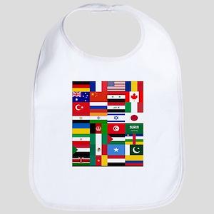 Country Flags Bib