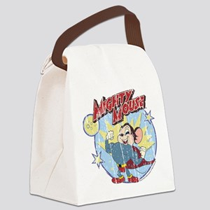 Mighty Mouse: Vintage Hero Canvas Lunch Bag