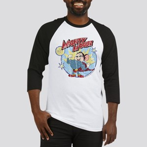 Mighty Mouse: Vintage Hero Baseball Jersey