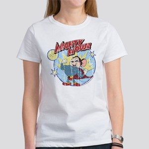 Mighty Mouse: Vintage Hero Women's T-Shirt