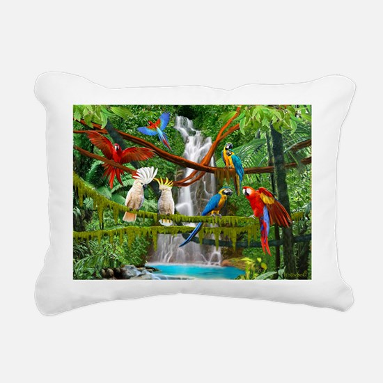 Cool Jungle Rectangular Canvas Pillow