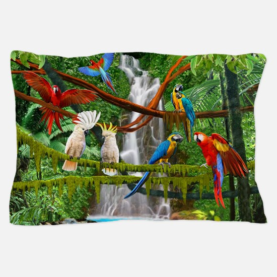 Cool Macaw Pillow Case