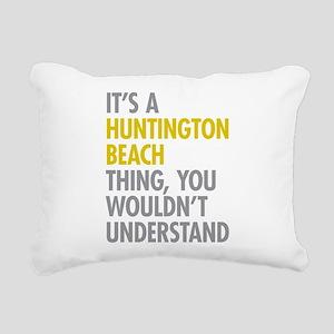 Huntington Beach Thing Rectangular Canvas Pillow