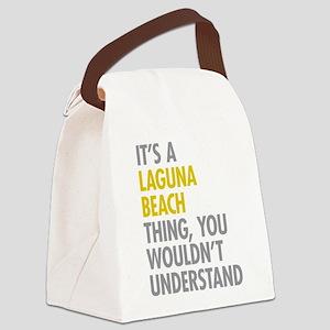 Laguna Beach Thing Canvas Lunch Bag