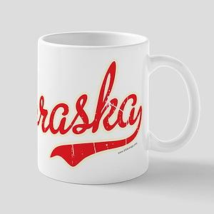 Nebraska Script Font Vintage Mugs