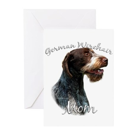 Wirehaired Mom2 Greeting Cards (Pk of 10)
