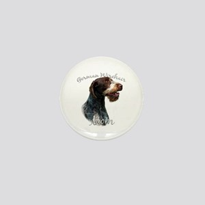 Wirehaired Mom2 Mini Button