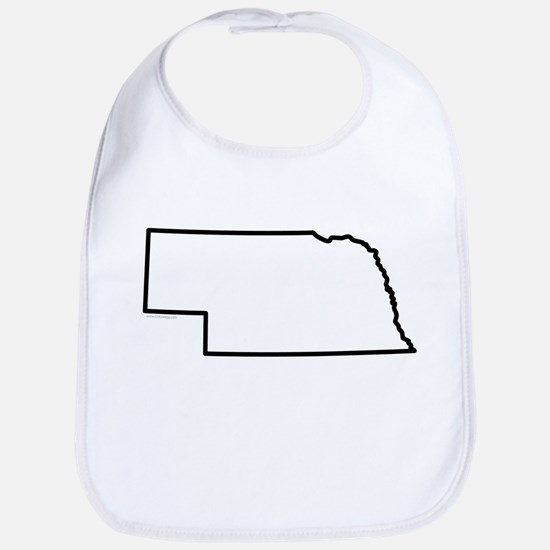 Nebraska State Outline Bib
