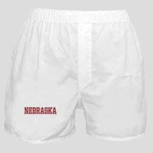 Nebraska Jersey Red Boxer Shorts