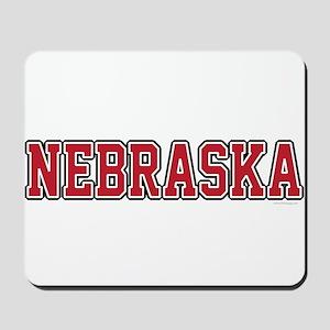 Nebraska Jersey Red Mousepad