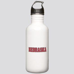 Nebraska Jersey Red Stainless Water Bottle 1.0L