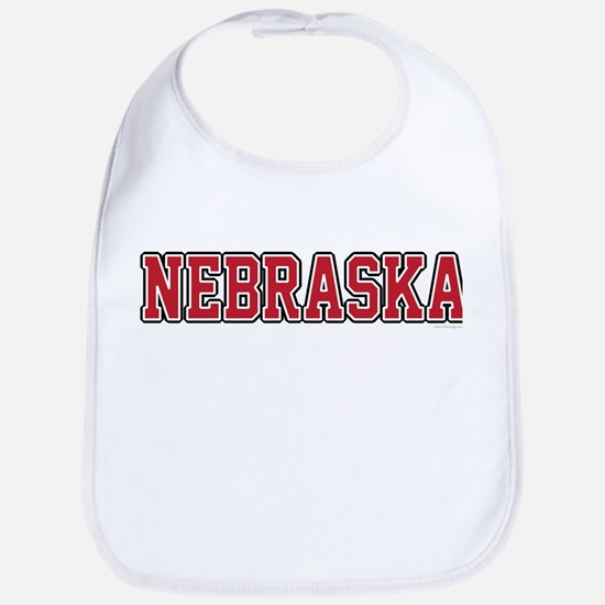 Nebraska Jersey Red Bib