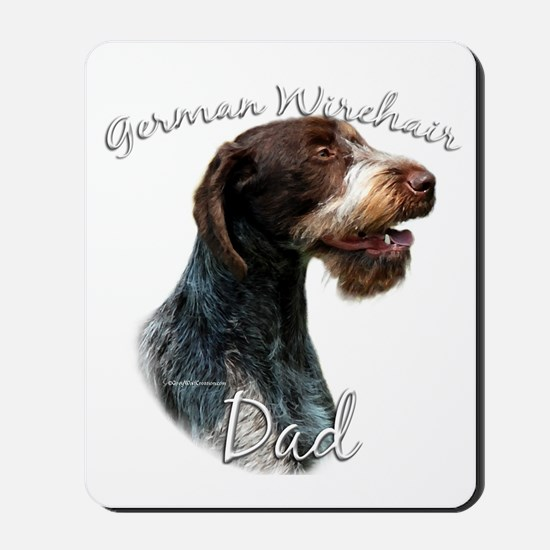 Wirehaired Dad2 Mousepad
