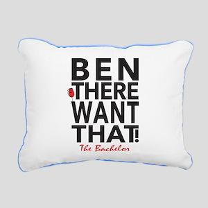 Ben The Bachelor Rectangular Canvas Pillow