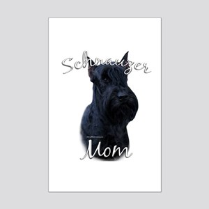 Schnauzer Mom2 Mini Poster Print