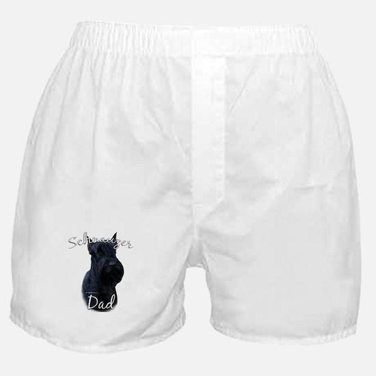 Schnauzer Dad2 Boxer Shorts