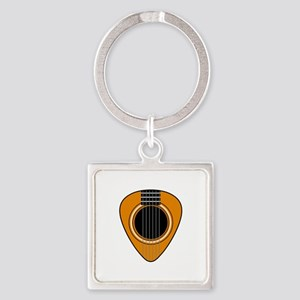 Acoustic Guitar Pick Keychains