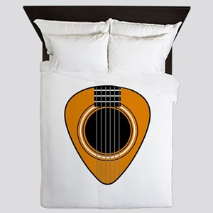 Acoustic Guitar Pick Queen Duvet