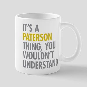 Paterson Thing Mugs
