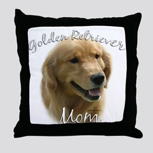 Golden Mom 2 Throw Pillow
