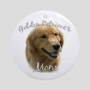 Golden Mom 2 Ornament (Round)