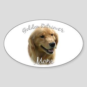Golden Mom 2 Sticker (Oval)