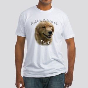 Golden Dad2 Fitted T-Shirt