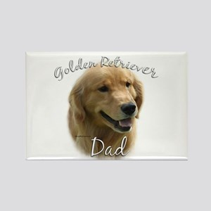 Golden Dad2 Rectangle Magnet