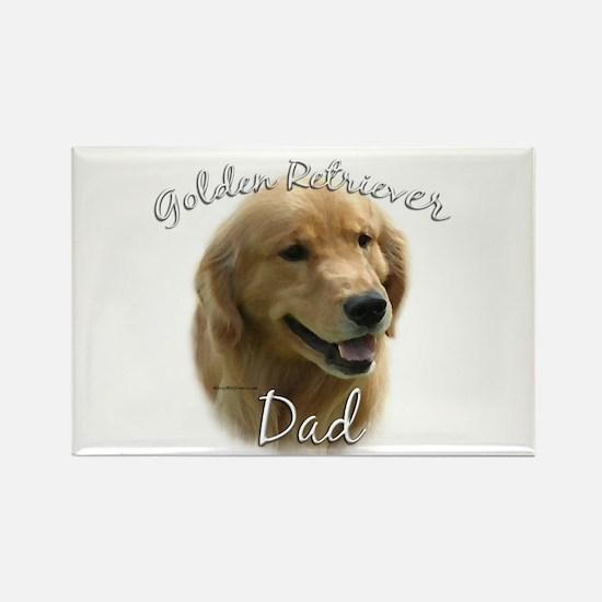 Golden Dad2 Rectangle Magnet