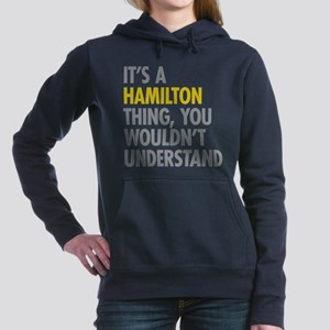 Hamilton Thing Women's Hooded Sweatshirt