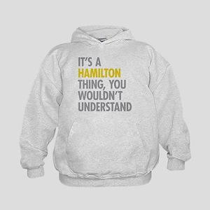 Hamilton Thing Kids Hoodie