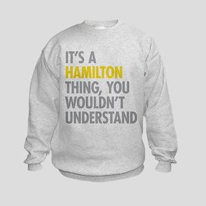 Hamilton Thing Kids Sweatshirt