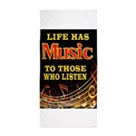 MUSIC Beach Towel