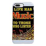 MUSIC iPhone 8/7 Plus Tough Case